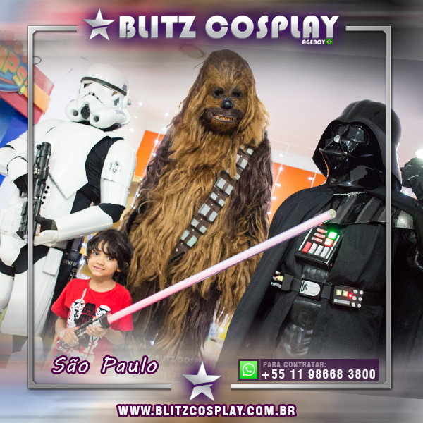 Contratar Star Wars para festas - Personagens Vivos