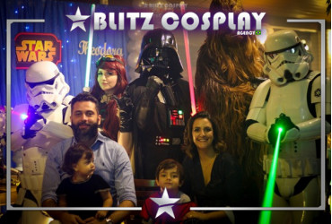 Star Wars Personagem Vivo Para Festas.