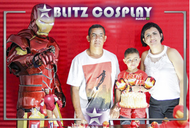 Flash personagem vivo para festas