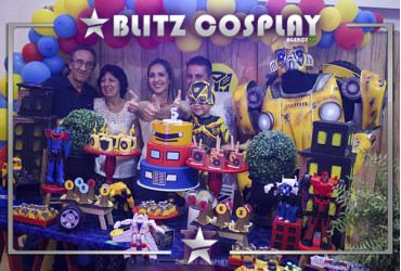 Transformers Personagens vivos para festas