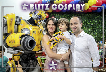 Bumblebee personagem vivo Transformers