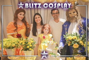 Rapunzel personagem vivo para festa
