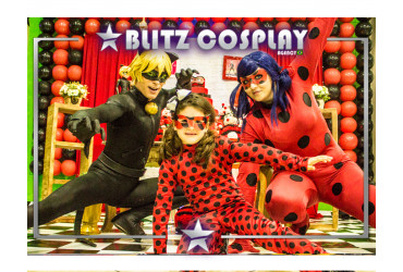 Cat Noir Personagem vivo Lady bug