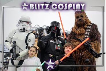 Star Wars Personagens vivos para festas
