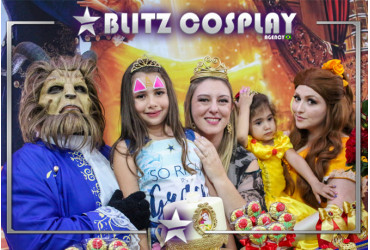 Frozen Personagens vivos para festa