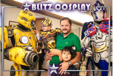 Transformers Bumblebee personagens vivos