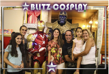 Flash personagem vivo para festas e eventos