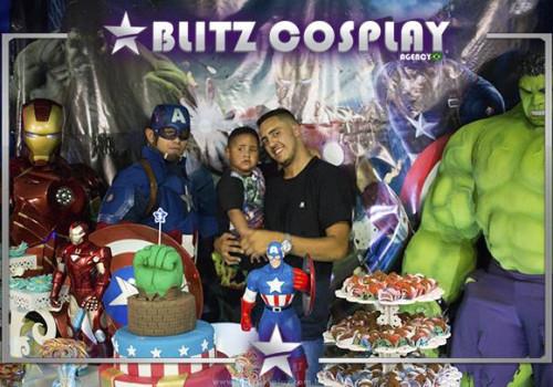 Personagens Vivos Festas/ Contratar Cosplay