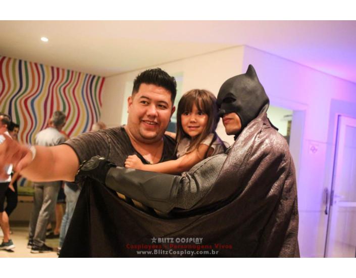 Batman Personagem Vivo Para Festas.
