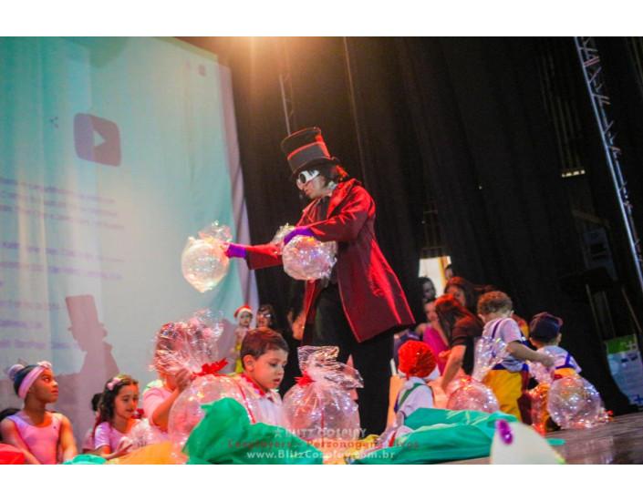 Willy Wonka Personagem Vivo Para Festas.