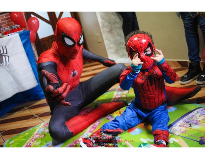 Homem Aranha Personagem Vivo Para Festas e Eventos.