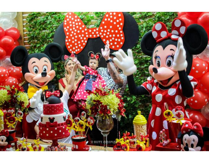 Mickey personagens vivos para festas