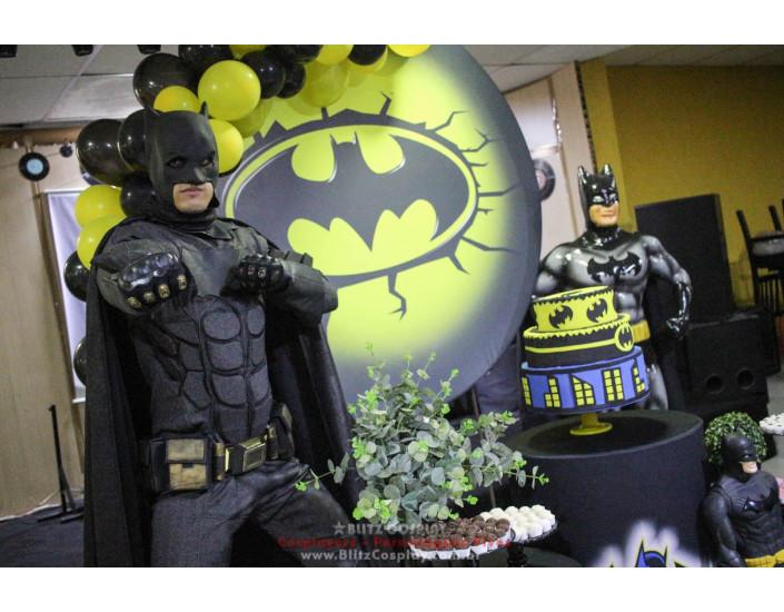 Batman Personagem Vivo Para Festas e Eventos.