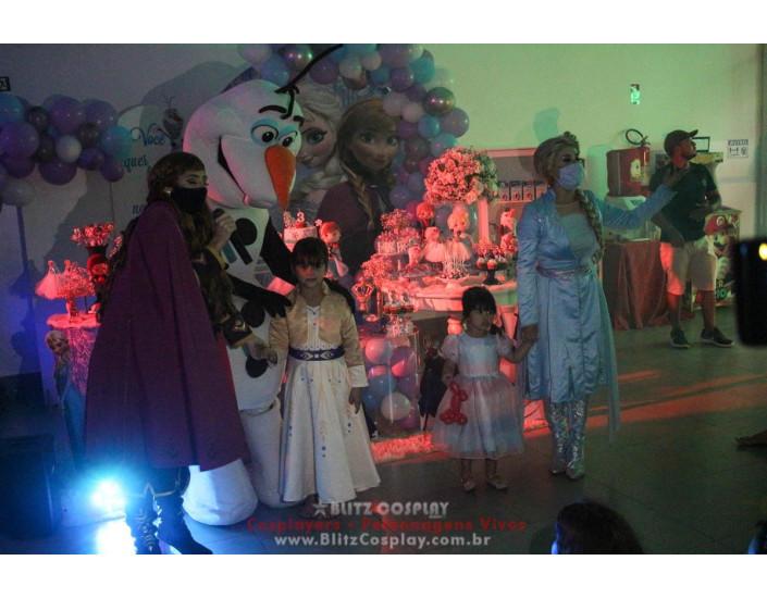 Frozen Personagens Vivos para Festas e Eventos.