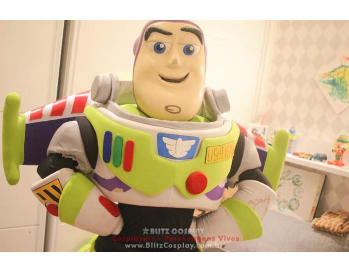 Buzz Lightyear Personagem Vivo Para Festas e Eventos.