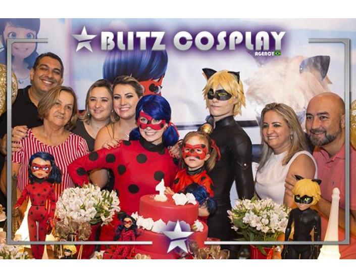 Ladybug personagens vivos para festas