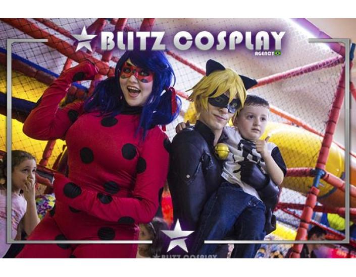 Ladybug personagens vivos para aniversários
