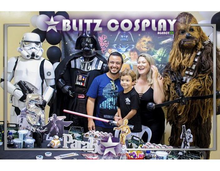 Darth Vader Personagem vivo para festa