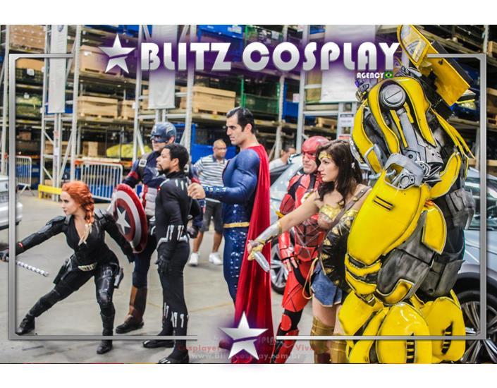 Heróis Personagens Vivos para Eventos