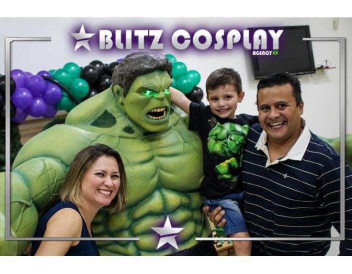 O Incrível Hulk Personagem Vivo Para Festas.