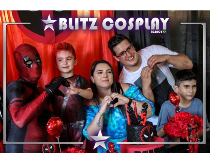 Deadpool Personagem Vivo Para Festas.