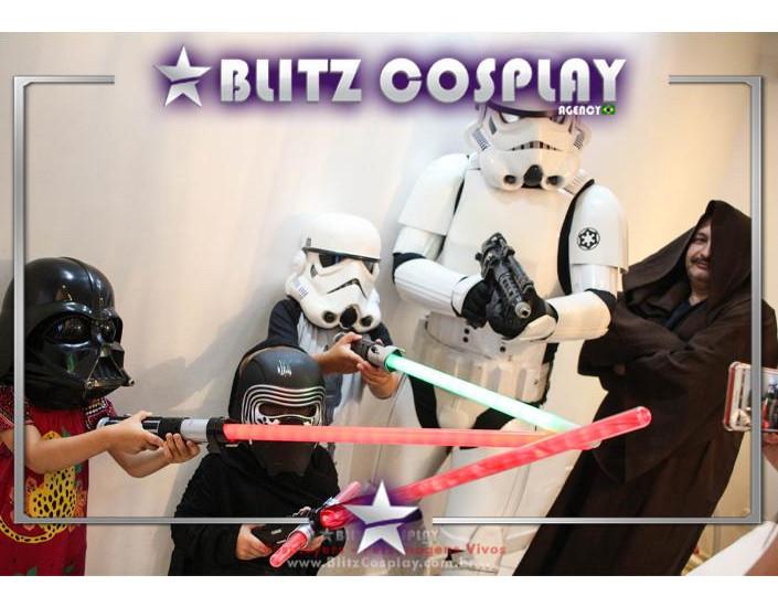 StarWars Personagem Vivo Para Festas e Eventos.