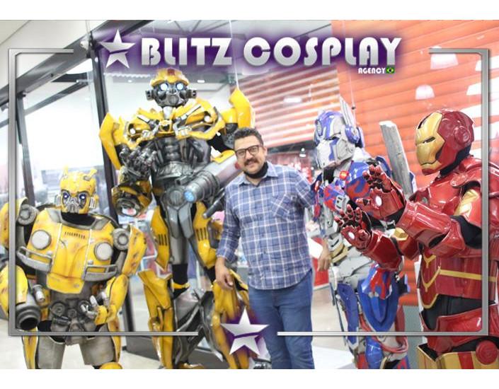 Robôs Personagens Vivos para Festas e Eventos.