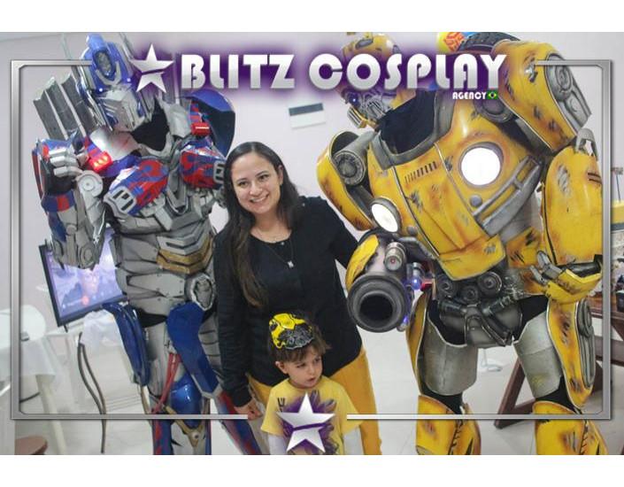 Transformers Personagem Vivo Para Festas e Eventos.
