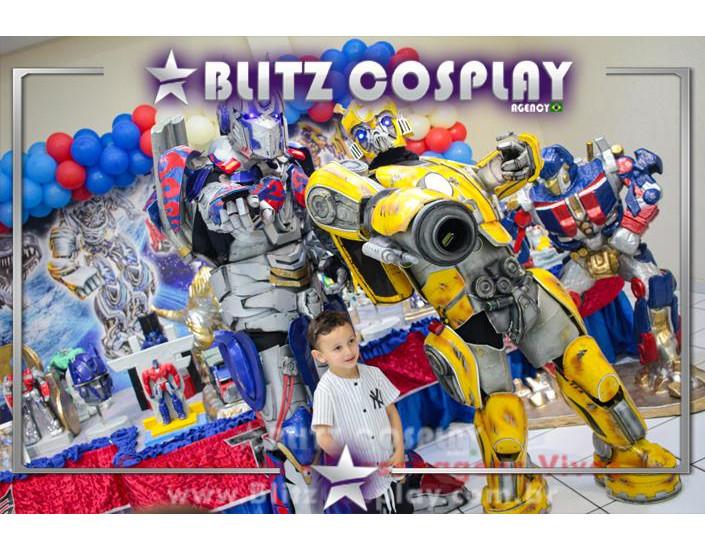 Transformers Personagem Vivo Para Festas e Eventos