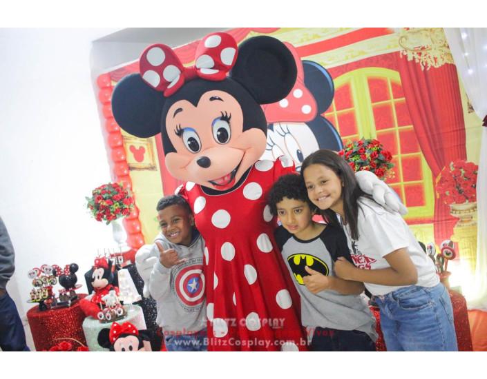 Minnie Personagens Vivos para Festas e Eventos.