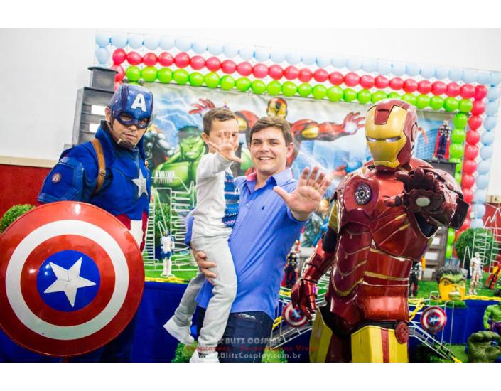 Os Vingadores Personagens vivos para festas