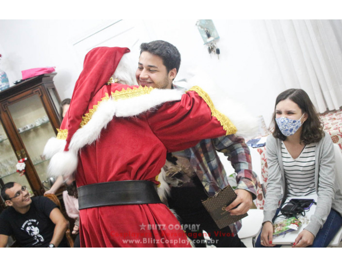 Papai Noel Personagem Vivo Para Festas e Eventos.