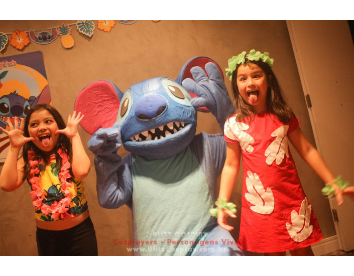 Lilo Stitch Personagem Vivo Para Festas e Eventos.