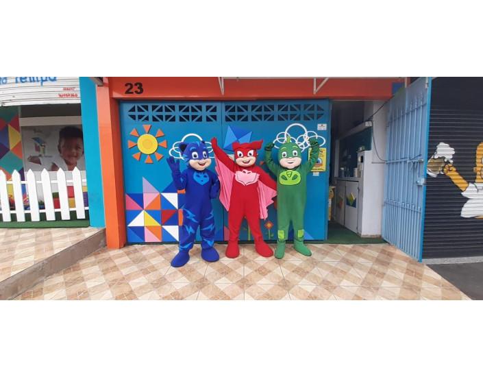 PJ Masks Personagens Vivos Para Festas e Eventos.