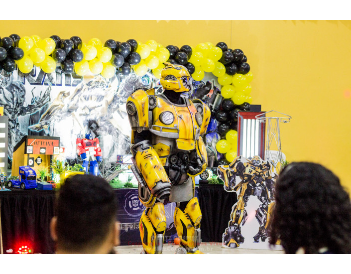 Bumblebee Personagem Vivo Para Festas.