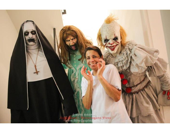 Terror Personagens Vivo Para Festas e Eventos.