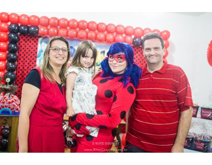 Ladybug Personagens vivos para festa