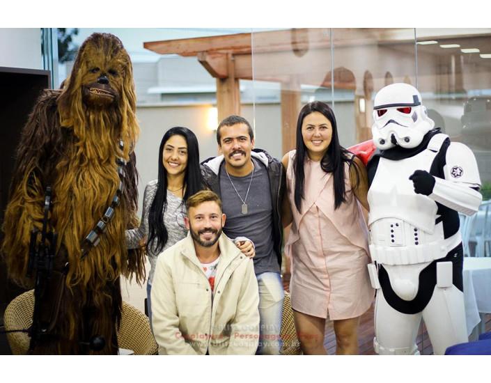 Star Wars Personagens vivos para aniversário