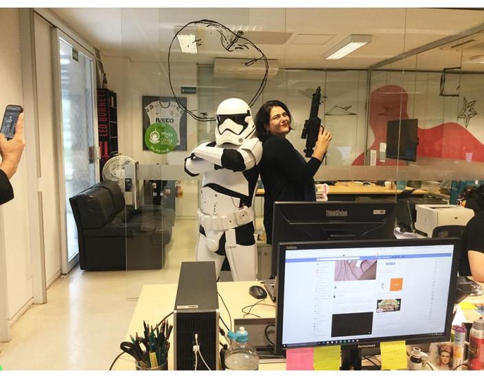 Stormtrooper personagens vivos para eventos