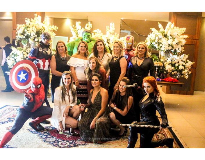 Os Vingadores Personagem Vivo Para Festas.