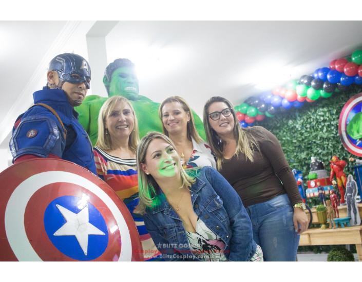 Personagem vivo Hulk para festa e eventos