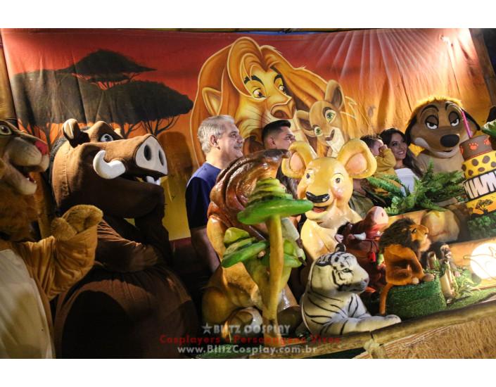 Rei Leão Personagem Vivo Para Festas e Eventos.
