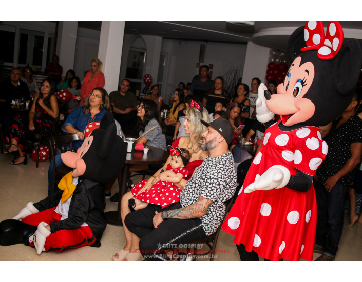 Mickey personagens vivos para festas