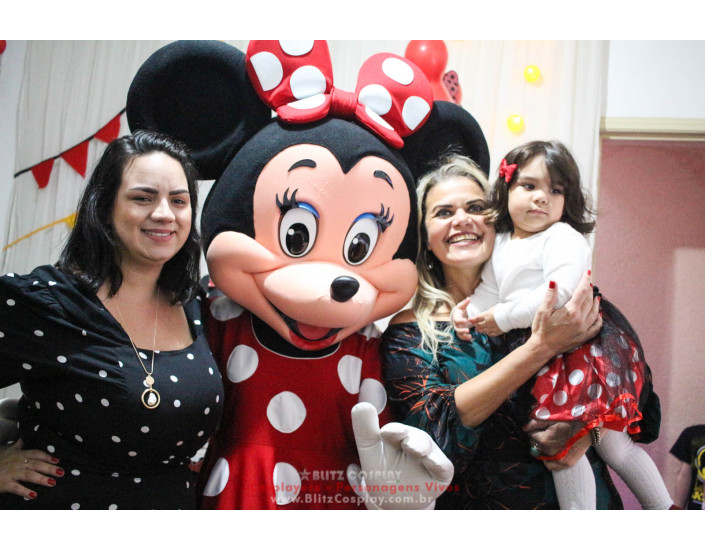 Minnie Personagens Vivos Para Festas e Eventos.