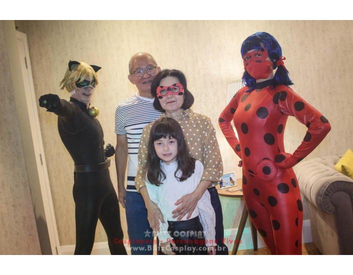 LadyBug Personagem Vivo Para Festas e Eventos.