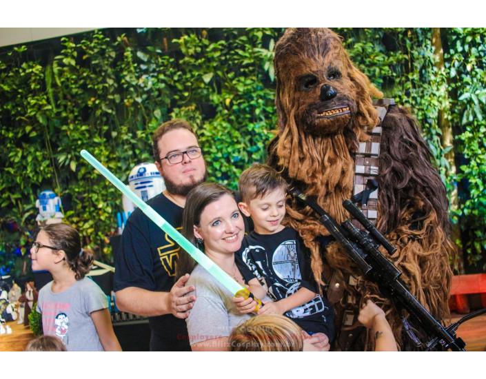 Star Wars Personagem Vivo Para Festas.