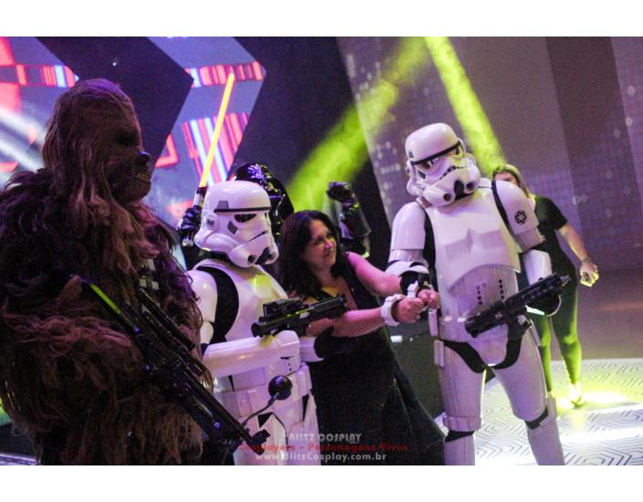 Stormtrooper personagens vivos Star Wars