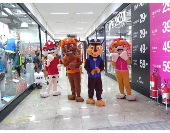 Patrulha Canina Personagens Vivos Para Festas e Eventos.