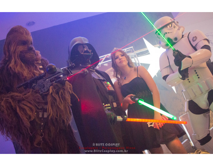 Darth Vader Personagem vivo para festa
