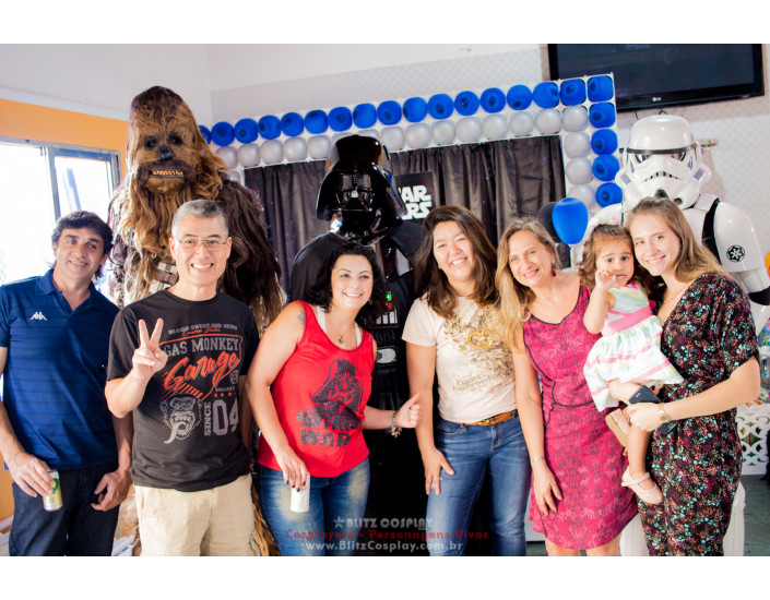 Star Wars Personagens vivos para festa